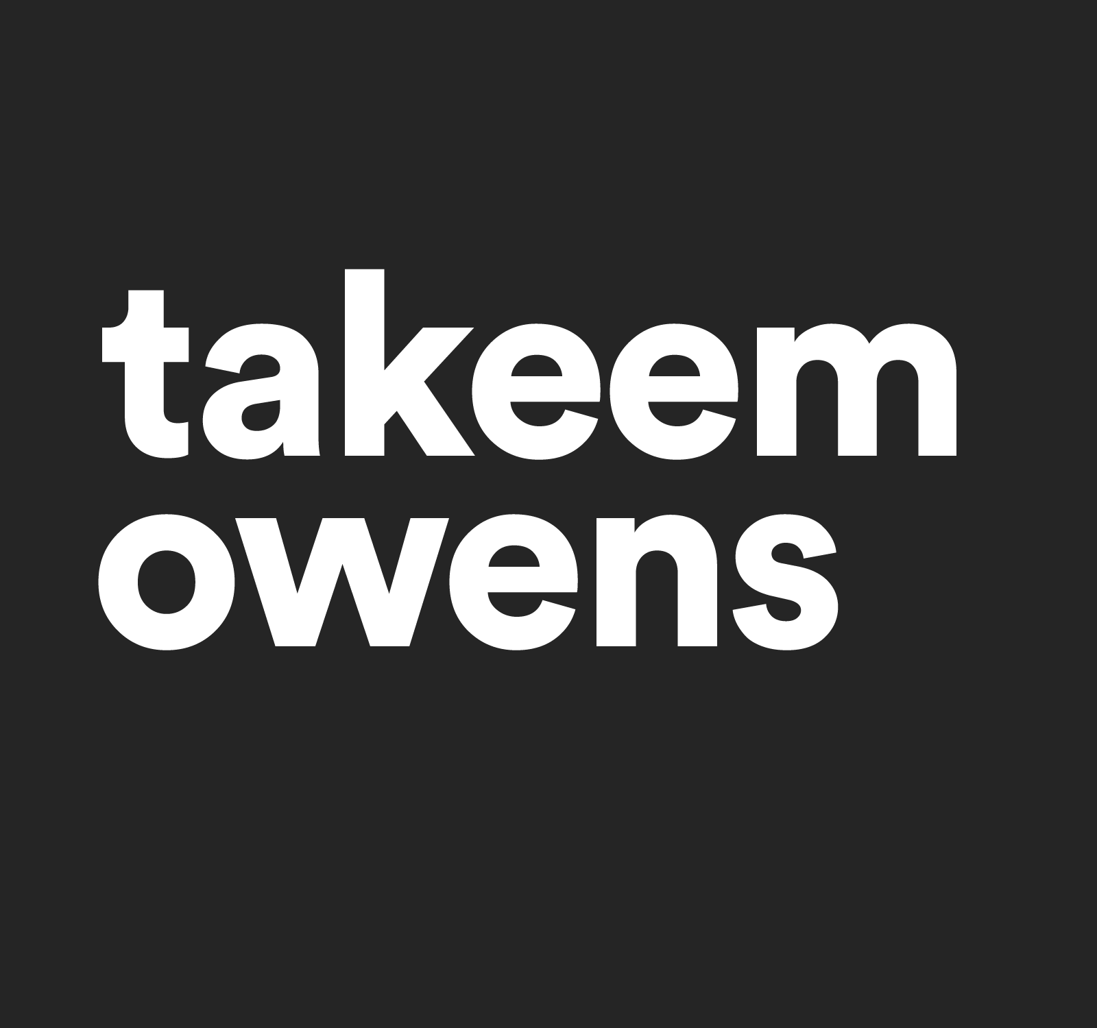 Takeem Owens | Product / UX Design Strategist